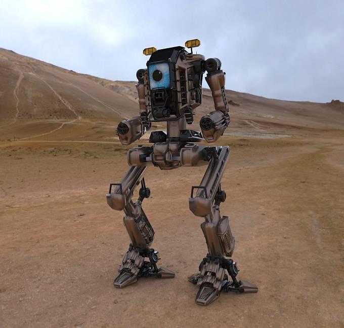 Budou bojová střetnutí vést jen roboti?