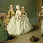 V rokoku se šlechta věnovala hlavně zábavě. Hygienu ale zanedbávala.