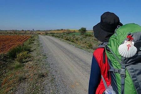 Poutníci na cestě do Santiaga de Compostela
