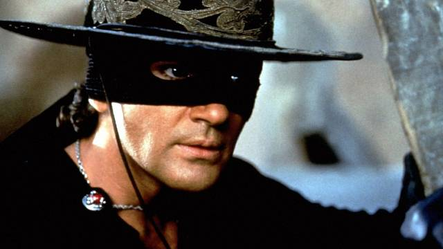 Zorro, jak ho známe z filmu