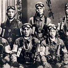Společná fotografie kamikaze před poslední misí