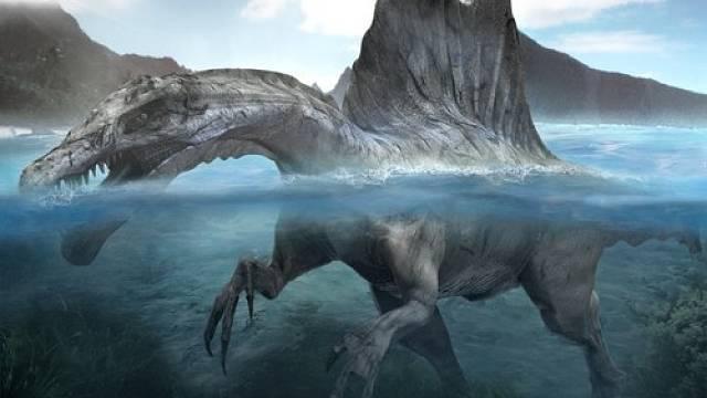 Spinosaurus - jeden z pěti největších zvířecích obyvatel planety