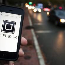 Aplikace Uber v praxi na ulici