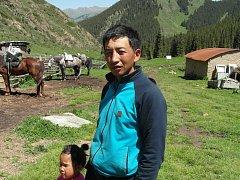Domorodci na severovýchodě Kazachstánu u čínských hranic