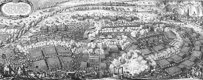 Bitva u Lützenu v září 1632.