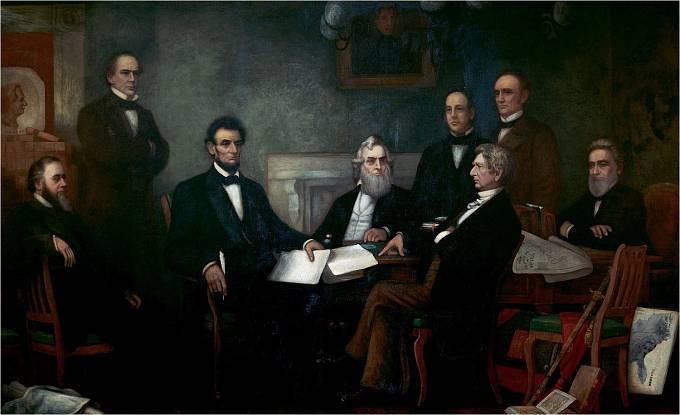 První čtení Lincolnova Emancipačního prohlášení, přijatého 22. září 1862.