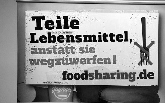 Sdílení jídla, například před odjezdem na dovolenou, je vNěmecku populární.