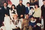 Saddámova rodina v 80. letech