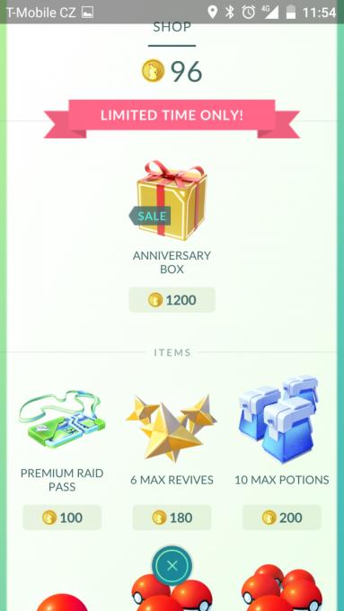 e-shop Pokémon GO