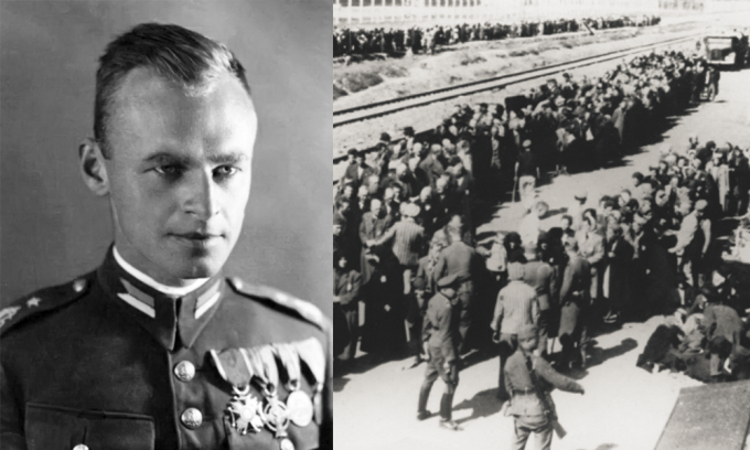 Witold Pilecki dobrovolně infiltroval Osvětim