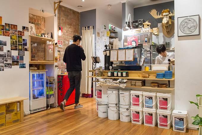 V asijské kavárně Little Rogue dělají asi jedno z nejlepších flat white.