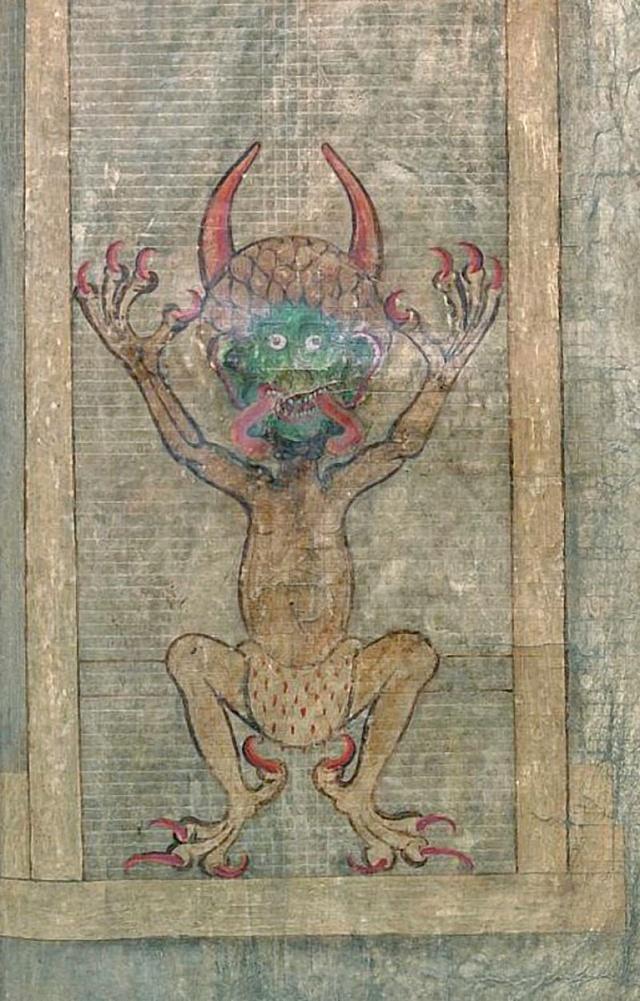 Codex Gigas - Podobizna Ďábla