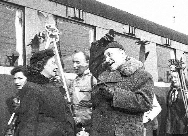 Milada Želenská a Jaroslav Marvan