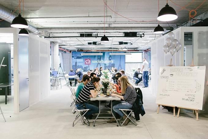 Nové kanceláře Socialbakers v pražském Karlíně