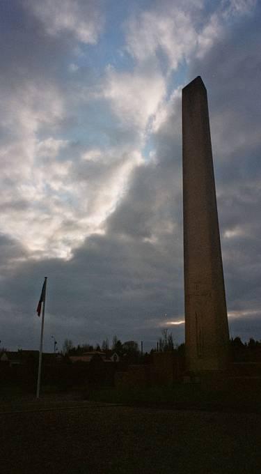 Památník obětem masakru v Oradour-sur-Glane