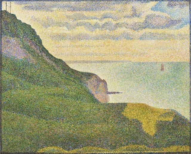 Georges Seurat - Mořská krajina v Normandii 2