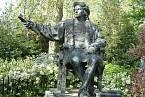 Socha Kryštofa Kolumba v Londýně