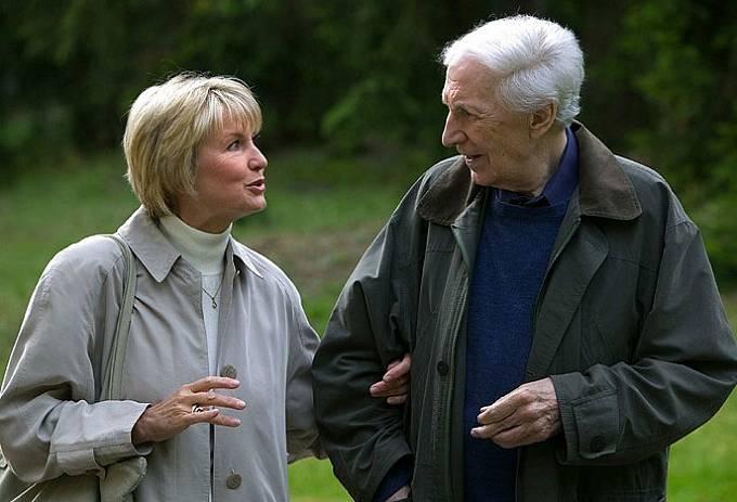 Ladislav Chudík s Eliškou Balzerovou