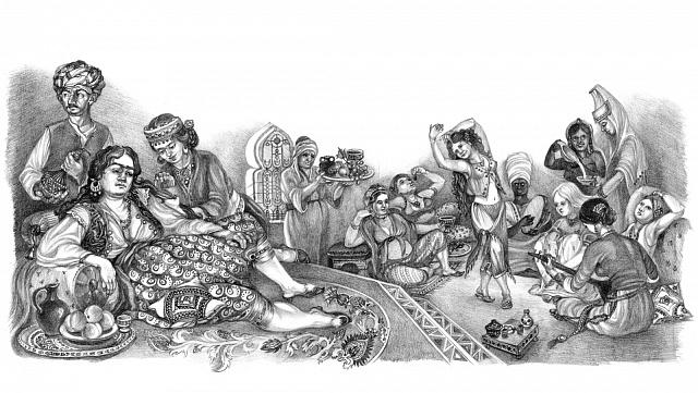 Harém byl jakousi internátní školou pro dívky, díky které se mohly vyšplhat po společenském žebříčku zotrokyně na sultánovu manželku