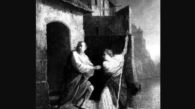 Král Václav IV. a lazebnice Zuzana