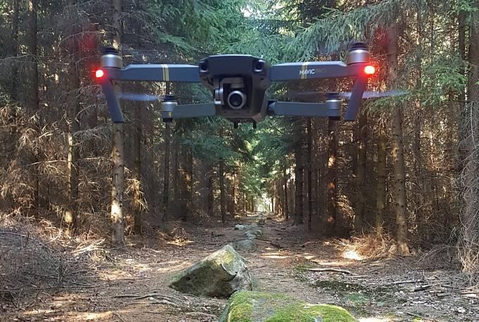 Dron nad záhadnými kounovskými kamennými řadami na Rakovnicku