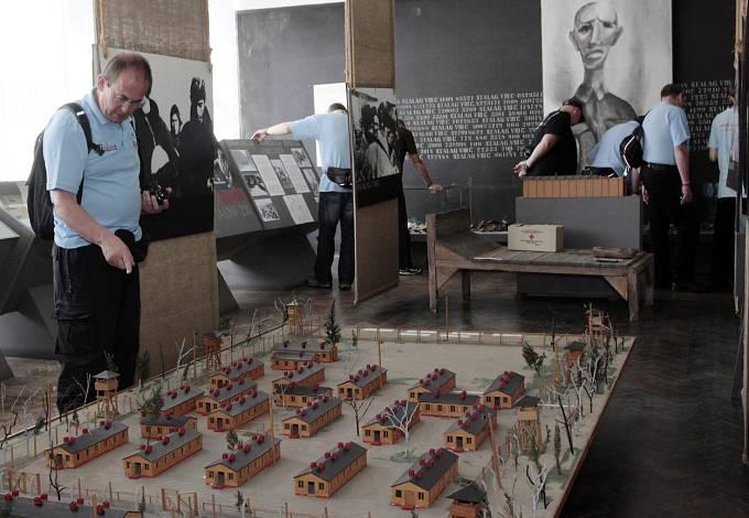 Model tábora Stalag Luft III