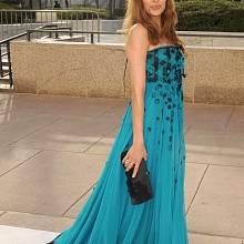 Róby YSL často oblékají hvězdy Hollywoodu: Eva Mendes