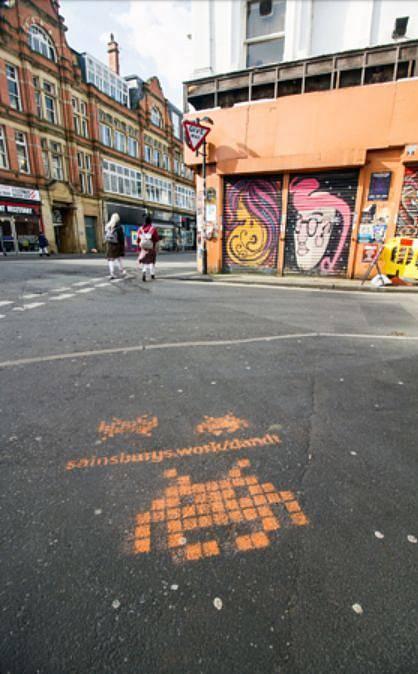 Kampaň britského obchodního řetězce Sainsbury´s lákala vývojáře na ikonku Space Invadera