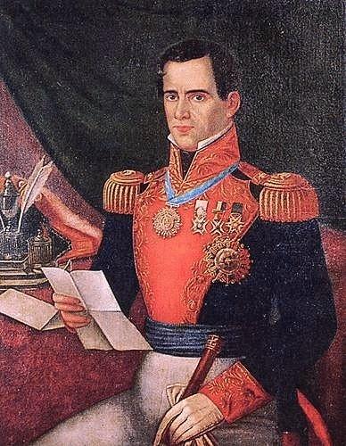 Generál Antonio Lopez Santa Anna