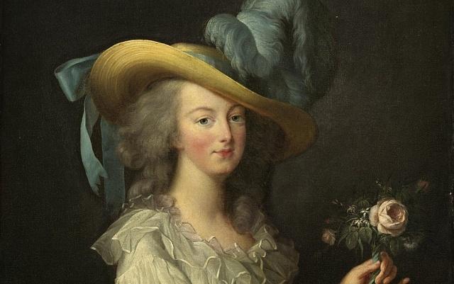 Marie Antoinetta na dobovém portrétu