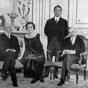 TGM a Edvard Beneš během Velké války