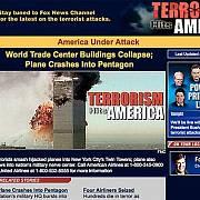 Webová stránka stanice Fox News