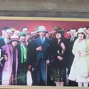 Vyobrazení modernisty Kemala Atatürka s chotí