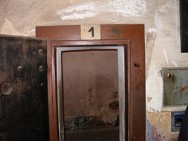cela Gavrila Principa v Terezíně