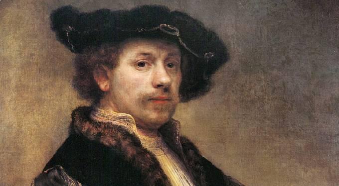 Rembrandt van Rijn: Autoportrét, 1640