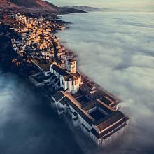 1. místo v kategorii cestování: Bazilika sv. Františka z Assisi, Umbria, Itálie