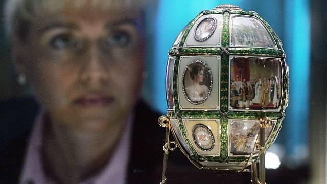 Jeden z nádherných klenotů Carla Fabergého.