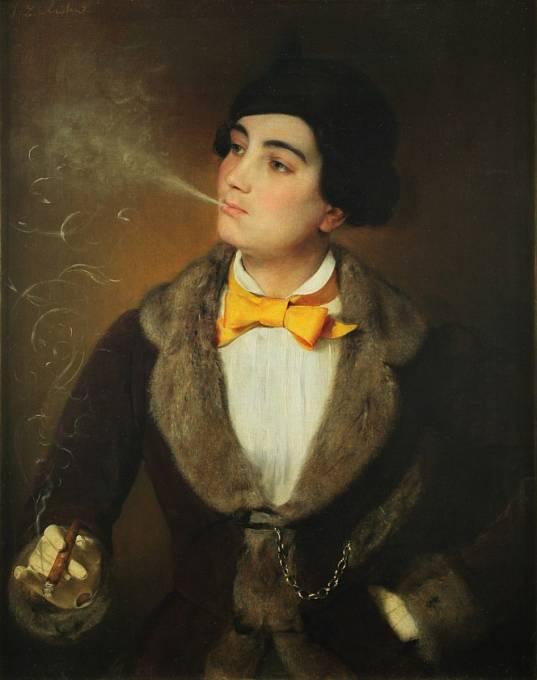 Kouření bylo v módě