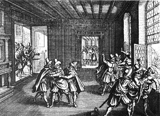 Třetí pražská defenestrace z22. června 1618byla demonstrací českých stavů proti porušování Rudolfova majestátu onáboženské toleraci ze strany katolického císaře Matyáše.