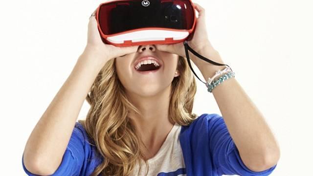 Brýle pro sledování virtuální reality View Master