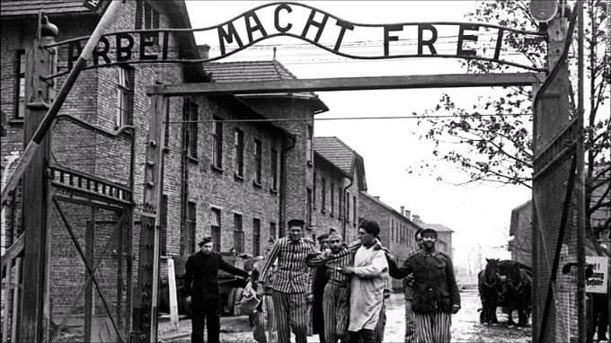 Brána do koncentračního tábora Osvětim