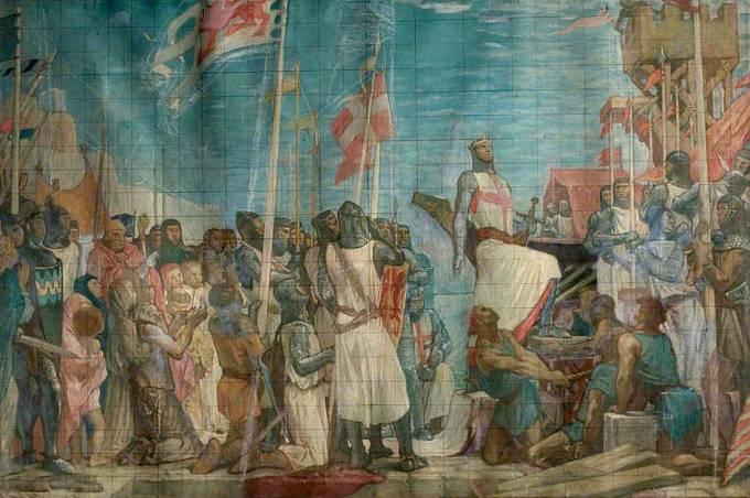 Richard I. Lví srdce na křížové výpravě
