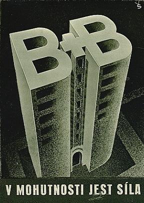 Reklamní plakát firmy Brouk a Babka