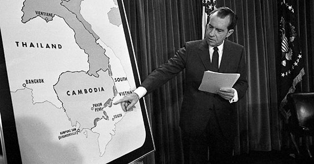Richard Nixon měl sice sklony knedemokratickým postupům, politice však rozuměl a prosadil mír ve Vietnamu