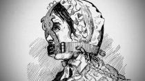 Uzda trestala hašteřivé a pomlouvačné ženy.