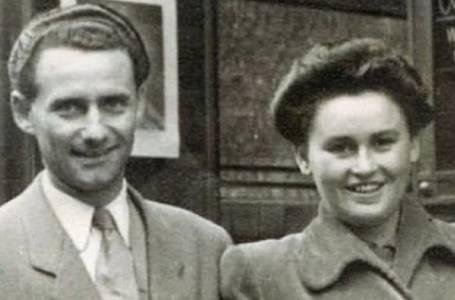 Lale Eisenberg - Sokolov s manželkou Gitou