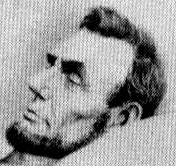 Abraham Lincoln na posmrtném snímku