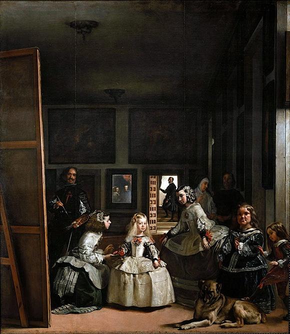 Diego Velázques: Dvorní dámy (1556)