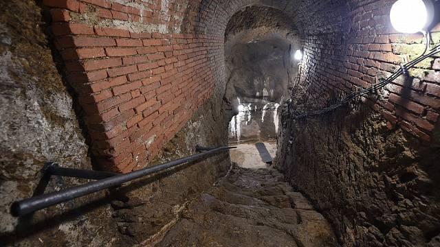 Nejznámější z chodeb jihlavského podzemí je tajemná Svítivka (ilustrační foto)