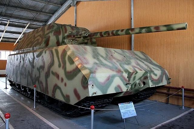 Nejtěžším tankem všech dob byl německý Maus